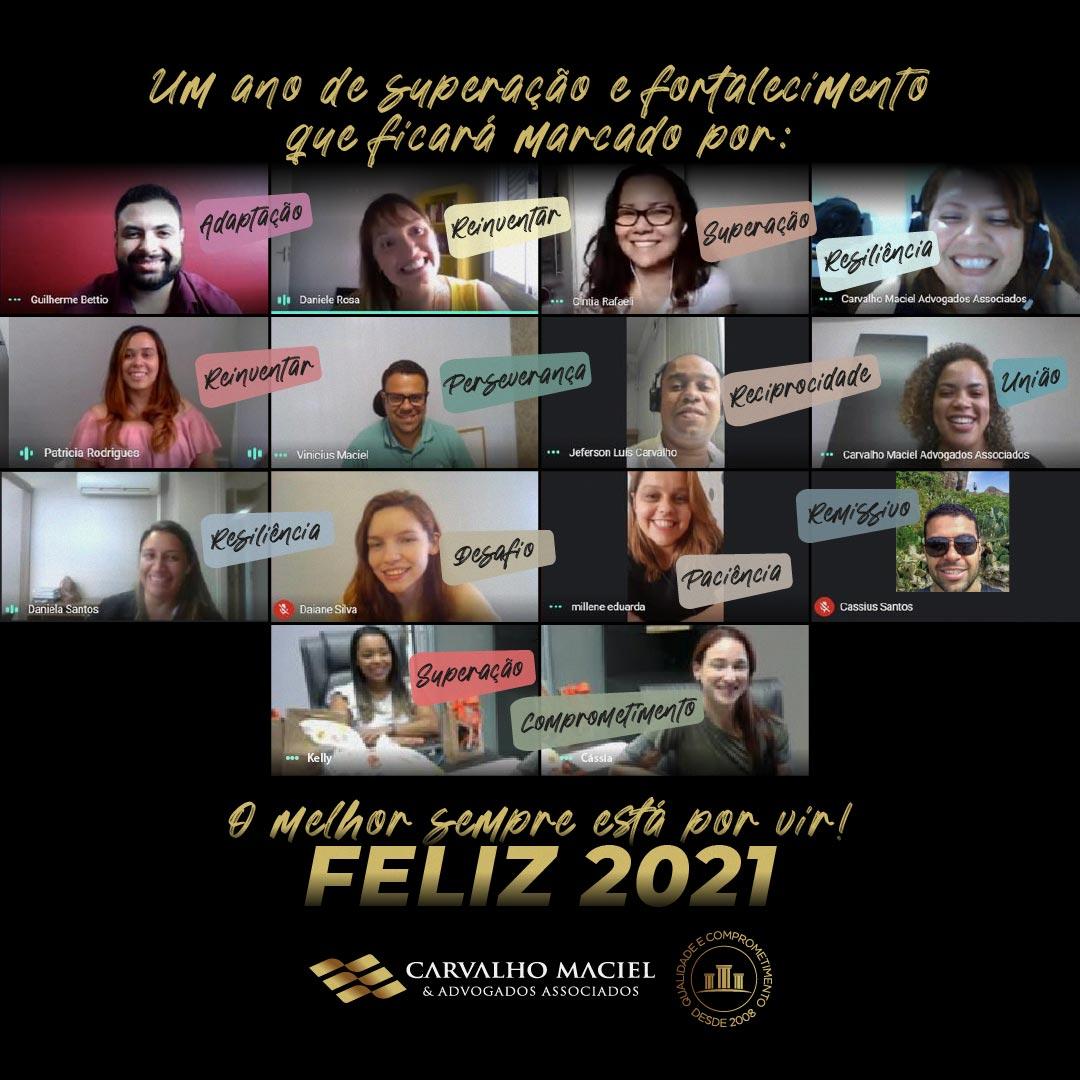 Feliz 2021 - Carvalho Maciel & Advogados Associados